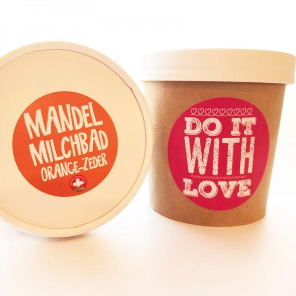Mandelmilchbad Orange No2 do it