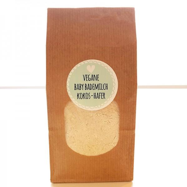 veganes Babymilchbad Hafer-Kokos
