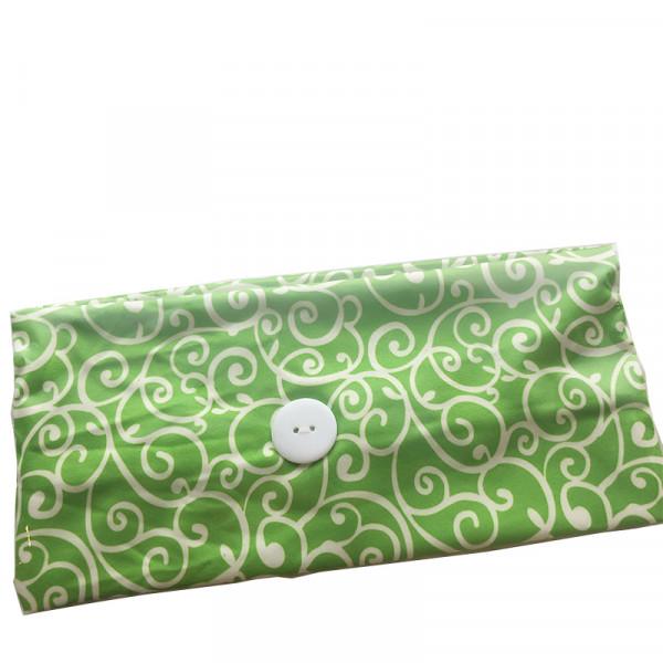 Masken Haarband grün
