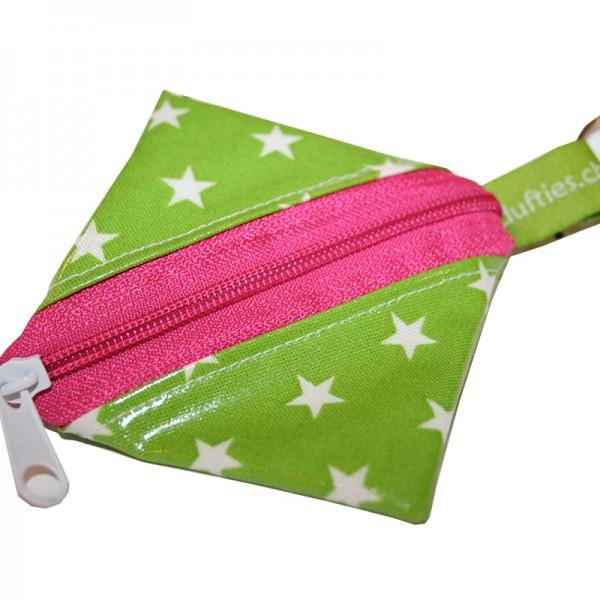 Duftiestäschli grün-pink