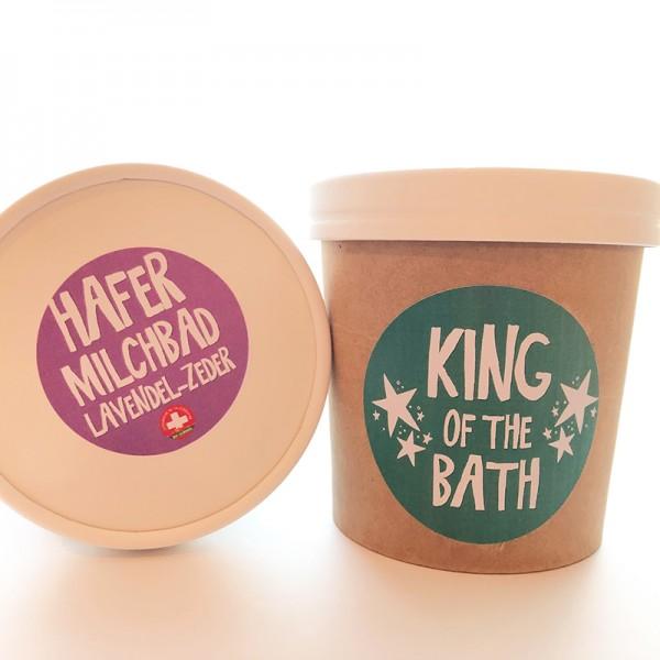 Hafermilchbad Lavendel No5 King